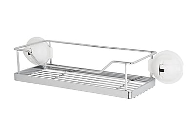FECA No Drilling Mountable Stainless Steel Rack with Powerful Suction Cup for Bathroom Kitchen Shelf WYF078279217683