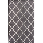 Super Area Rugs Metro Gray Area Rug; 3'3'' x 5'