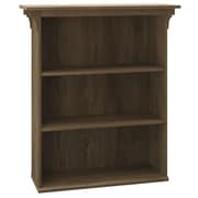 Bush Furniture Mission Creek 3 Shelf Bookcase, Rustic Brown (MCB136RB-03)