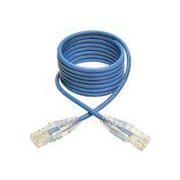 Tripp Lite 5ft Cat6 Gigabit Snagless Molded Slim UTP Patch Cable RJ45 M/M Blue 5' Patch Cable 5 Ft Blue