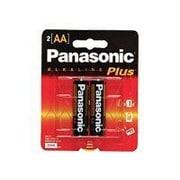 Panasonic Alkaline Plus AM-3PA Battery AA Alkaline X 2