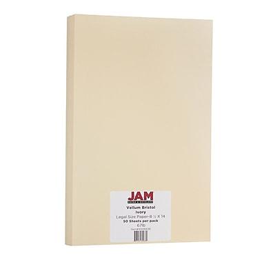 Jam PaperMD — papier cartonné, taille légale, Bristol ivoire, 50/paquet