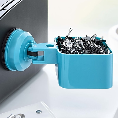 FECA Suction Cup Paper Clip Holder; Blue WYF078279218069
