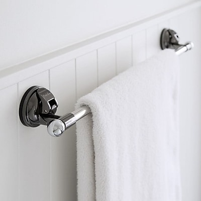 FECA 24.25'' Wall Mounted Stainless Steel Bathroom Towel Bar; Matte Nickel WYF078279218083