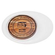 Red Vanilla 13'' Cheese Plate w/ Acacia Board