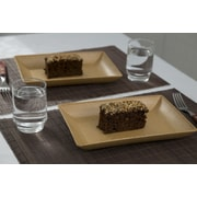 EVO Sustainable Goods Serving Dish (Set of 2); Light Brown