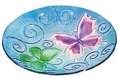 Evergreen Enterprises, Inc Butterflies in Flight Birdbath WYF078278835677