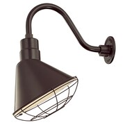 Millennium Lighting R Series 12'' Metal Empire Wall Sconce Shade; Architectural Bronze