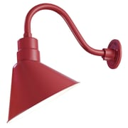 Millennium Lighting R Series 12'' Metal Empire Wall Sconce Shade; Satin Red