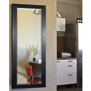 Rayne Mirrors Jovie Jane Black Superior Full Length Body Mirror; 63.5'' H x 25.5'' W x 0.75'' D