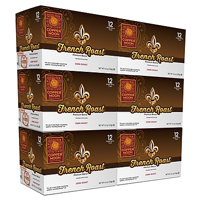 Copper Moon French Roast 72ct Single Cup 2400132