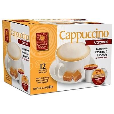 Copper Moon Cappuccino Caramel Single Cup 12ct. 2400139
