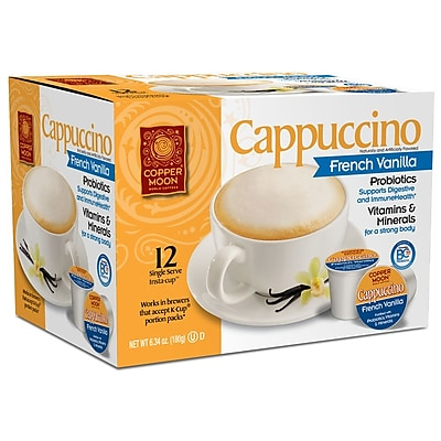 Copper Moon Cappuccino French Vanilla Probiotic Single Cup 12ct. 2400140