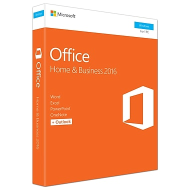 Microsoft Office Home & Business 2016, 1 PC, English