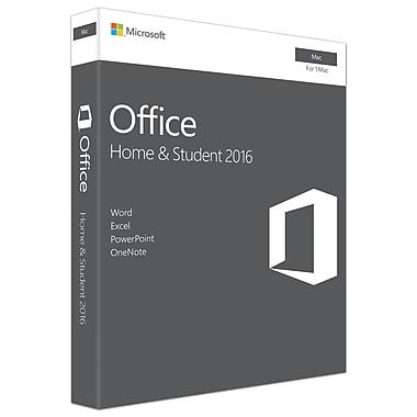 Microsoft – Office Famille et Étudiant 2016 pour Mac, 1 Mac, anglais