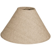 RoyalDesigns Timeless Coolie 16'' Linen Empire Lamp Shade; Linen Belgium