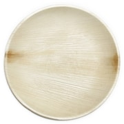 Leaf & Fiber 9'' Compostable Sustainable and All Natural Palm Leaf Dinner Plate (Set of 100)