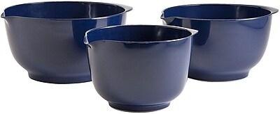Hutzler 3 Piece Melamine Mixing Bowl Set;