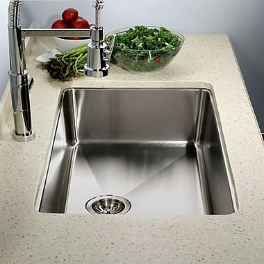 Houzer 23.07'' x 18'' Nouvelle Undermount Single Bowl Kitchen Sink