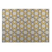 KavKa Sliding Hexagon Indoor/Outdoor Floor Mat