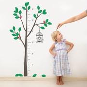 The Decal Guru Tree Growth Chart Wall Decal; Color Option 1
