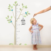 The Decal Guru Tree Growth Chart Wall Decal; Color Option 2