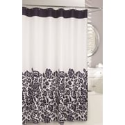 Moda At Home Bella Fabric Shower Curtain