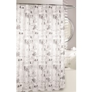 Moda At Home Invention Fabric Shower Curtain