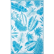 Fab Rugs World Blue Indoor/Outdoor Area Rug; 6' x 9'