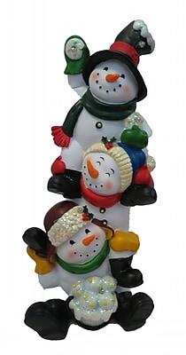 Alpine Snowmen Statuary WYF078279220795