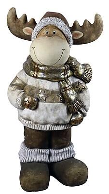 Alpine Christmas Reindeer Statuary WYF078279220819