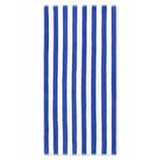 Crover Cabana Stripe Beach Towel (Set of 2); Royal Blue