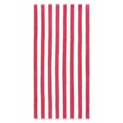 Crover Cabana Stripe Beach Towel (Set of 2); Fuchsia
