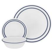 Corelle Livingware Classic Cafe 18 Piece Dinnerware Set; Blue