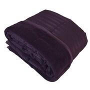 Luxlen Reversible Throw Blanket; Purple
