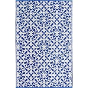 Fab Rugs World Blue Indoor/Outdoor Area Rug; 4' x 6'