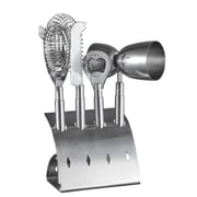 Visol Products 4 Piece Stainless Steel Bar Pro Set