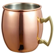 Visol Products Kremlin 20 oz. Moscow Mule Mug; Copper Mirrored
