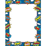 Teacher Created Resources Superhero Computer Paper, 50 Sheets Per Package (TCR5629)