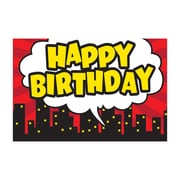 "Teacher Created Resources Superhero Happy Birthday Postcards, 4""x6"" 30 Per Pack (TCR5605)"
