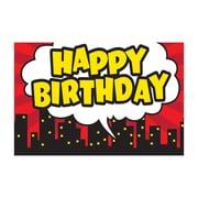 "Teacher Created Resources Superhero Happy Birthday Postcards, 4""x6"" 30 Per Pack (TCR5605)"