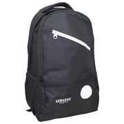 Sargent Art Standard Backpack, Black w/ Black Trim, Nylon (SAR985031)