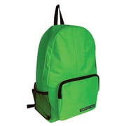 Sargent Art Economy Backpack, Green w/ Black Zippers, Nylon (SAR985011)