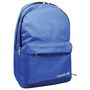 Sargent Art Standard Backpack, Royal Blue w/ Black Zippers, Nylon (SAR985030)