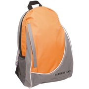 Sargent Art Economy Backpack, 2-Tone Yellow & Gray w/ White & Black Trim, Nylon (SAR985020)