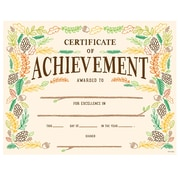 "Creative Teaching Press Woodland Friends Certificate of Achievement Large Awards 8-1/2""x11"", Pack of 50 (TCR2537)"
