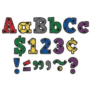 """Teacher Created Resources 4"""" Plaid Bold Block Letters Combo Pack (TCR5694)"""