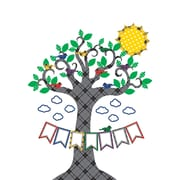 Teacher Created Resources Plaid Tree Bulletin Board (TCR5848)