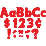"Teacher Created Resources 4"" Red Funtastic Letters Combo Pack (TCR5821)"