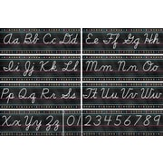 Teacher Created Resources Chalkboard Brights Cursive Writing Bulletin Board (TCR5858)